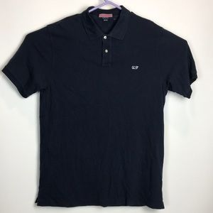 Vineyard Vines Large Navy Blue Polo S/S